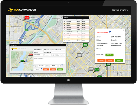 Web-Based Dispatch System